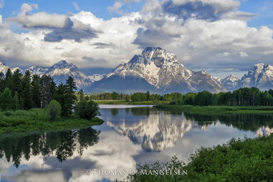 Oxbow Reflections | Open Edition Art
