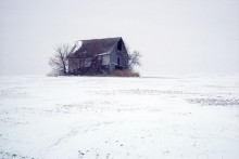 Barn in Winter | Artist Proof Collection