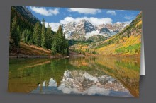 Maroon Bells Reflection | Art Card Set