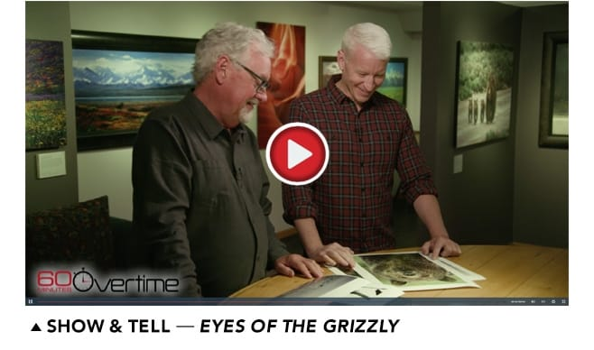 Mangelsen tells Anderson Cooper about Eyes of the Grizzly