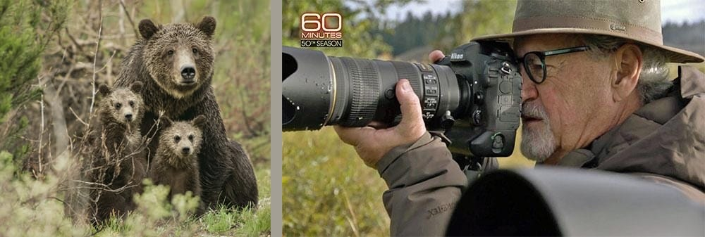 Mangelsen Shooting Grizzly Bears