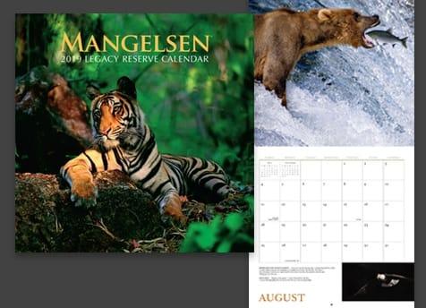 2019 Mangelsen Calendar